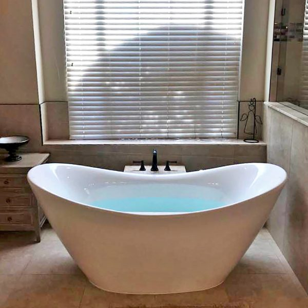 BRF-85 Freestanding Slipper Style Bathtub